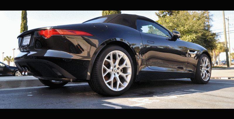 2014 Jaguar F-type S Cabrio 4 GIF