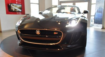 2014 Jaguar F-type S Cabrio - LED Lighting Demo and 60 High-Res Photos1