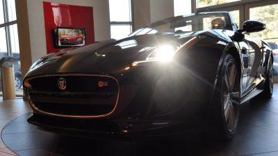 2014 Jaguar F-type S Cabrio - LED Lighting Demo and 60 High-Res Photos2
