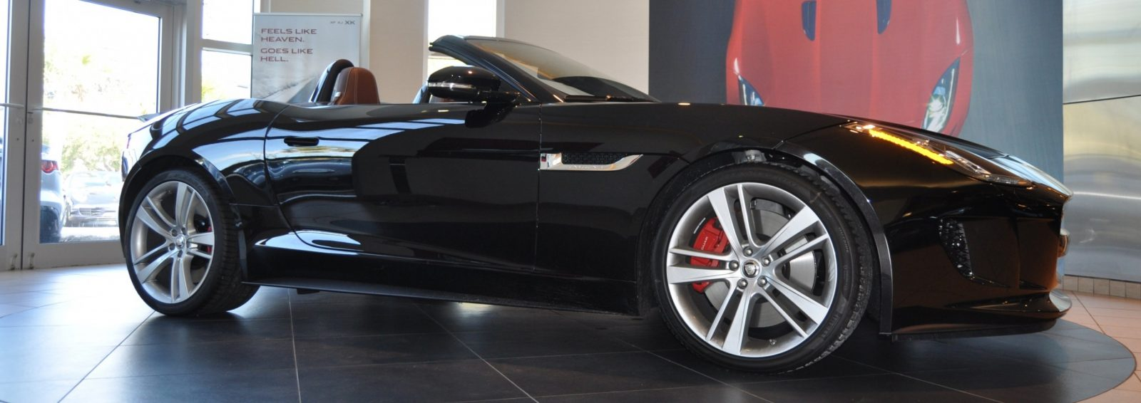 2014 Jaguar F-type S Cabrio - LED Lighting Demo and 60 High-Res Photos21