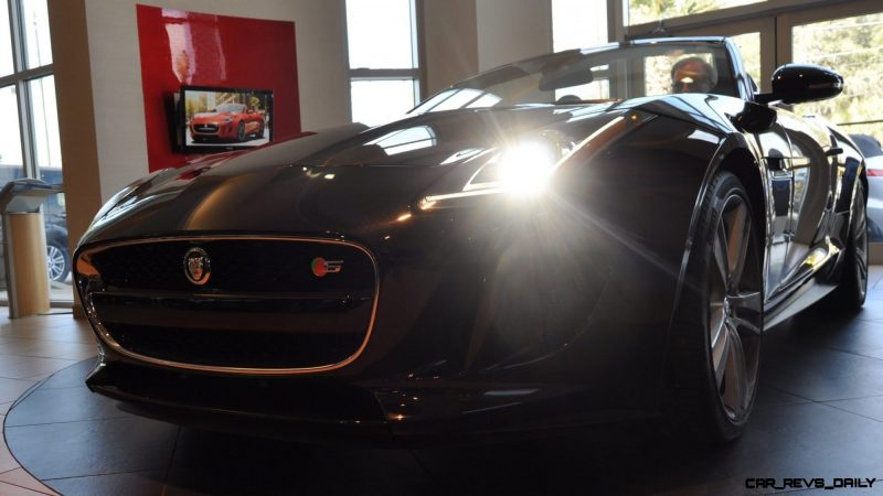 2014 Jaguar F-type S Cabrio - LED Lighting Demo and 60 High-Res Photos2