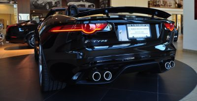 2014 Jaguar F-type S Cabrio - LED Lighting Demo and 60 High-Res Photos28