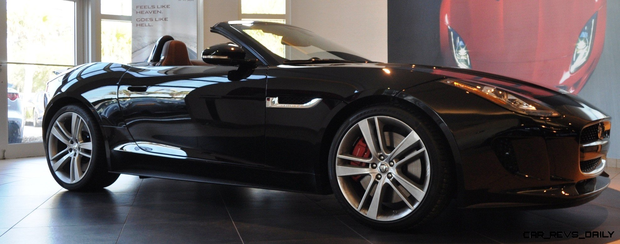 2014 jaguar f type s cabrio led lighting demo and 60 high res photos3. Black Bedroom Furniture Sets. Home Design Ideas