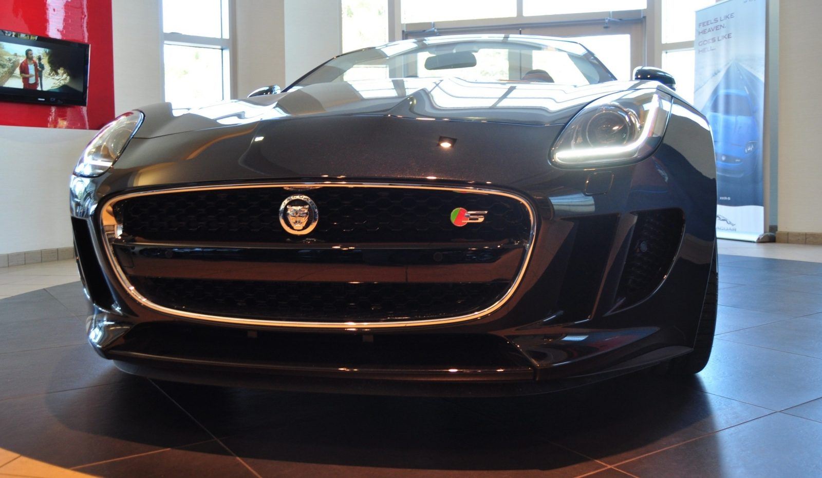 2014 Jaguar F-type S Cabrio - LED Lighting Demo and 60 High-Res Photos33