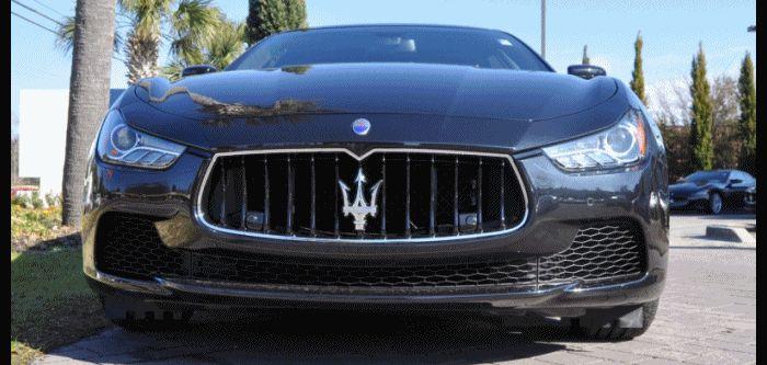 2014 Maserati Ghibli Animated GIF3