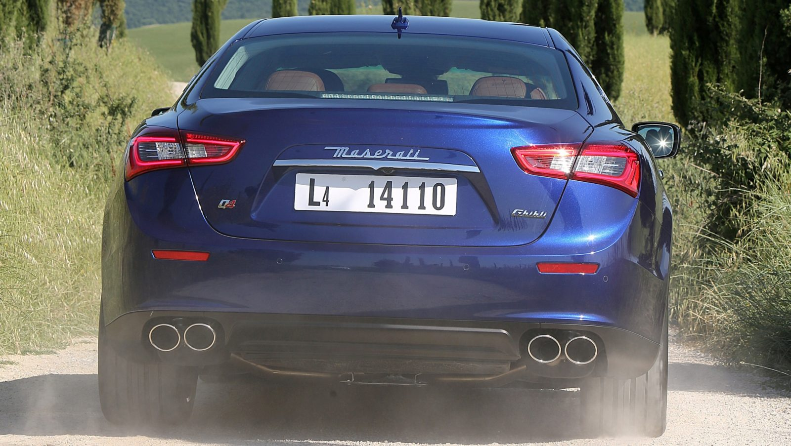 2014 Maserati Ghibli - Latest Official Photos 1