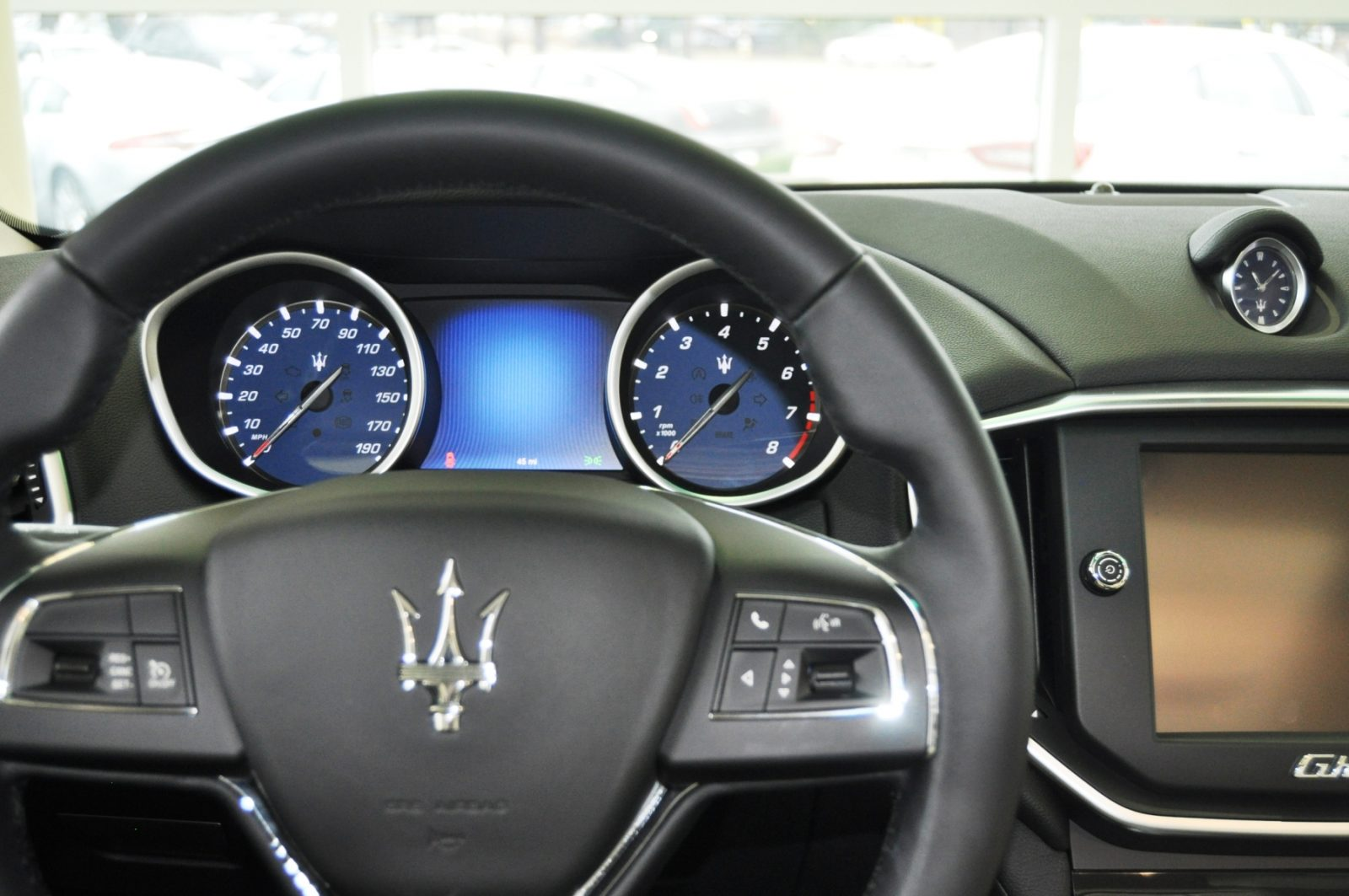 2014 Maserati Ghibli Q4 -- Interior Feels Luxe and High-Quality, But Back Seat A Bit Tight 12
