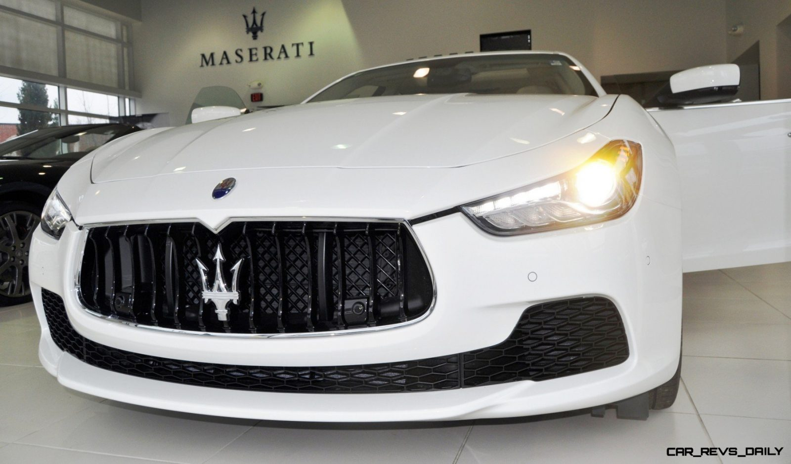 2014 Maserati Ghibli Q4 -- Interior Feels Luxe and High-Quality, But Back Seat A Bit Tight 16