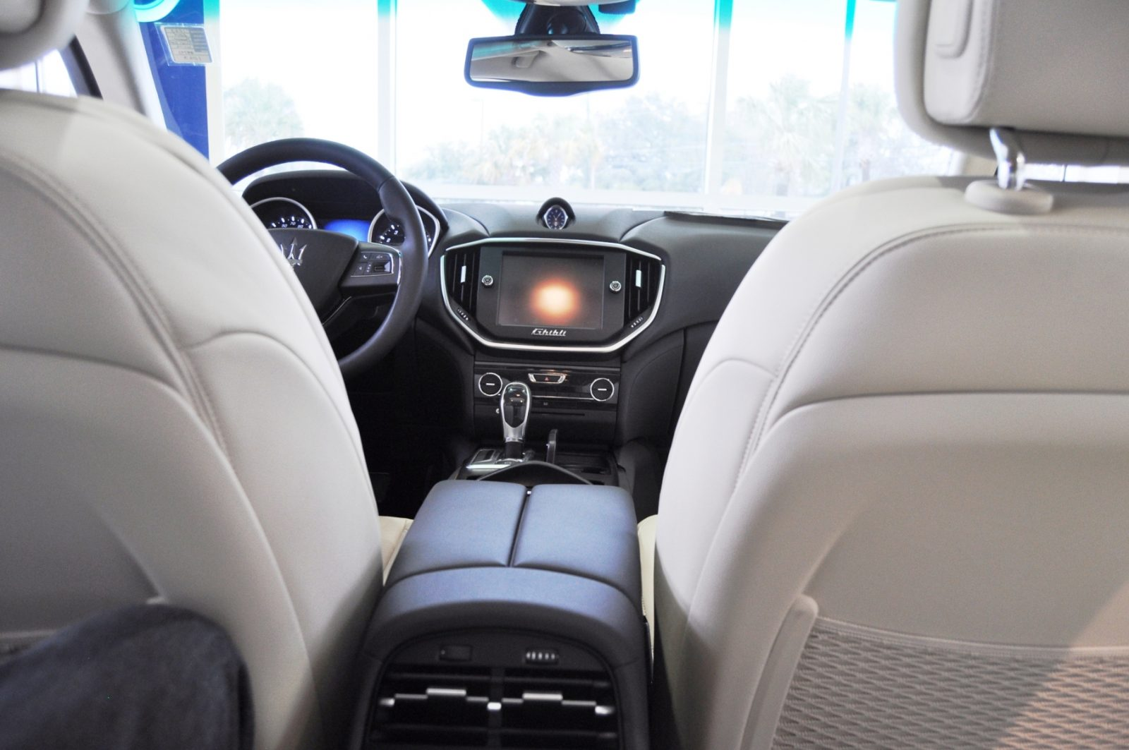 2014 Maserati Ghibli Q4 -- Interior Feels Luxe and High-Quality, But Back Seat A Bit Tight 6