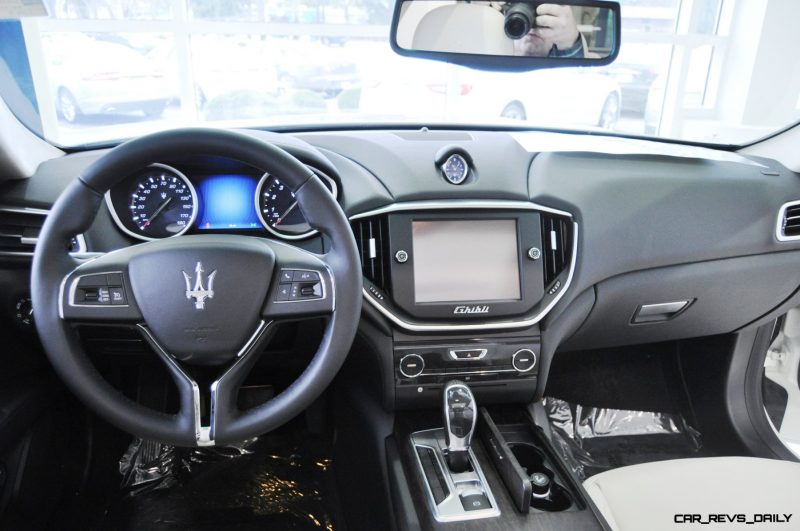 2014 Maserati Ghibli Q4 -- Interior Feels Luxe and High-Quality, But Back Seat A Bit Tight 8