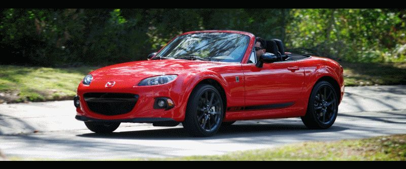 2014 Mazda MX-5 CLUB Animated GIF