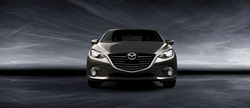 2014 Mazda3 Sedan - All COlors GIF