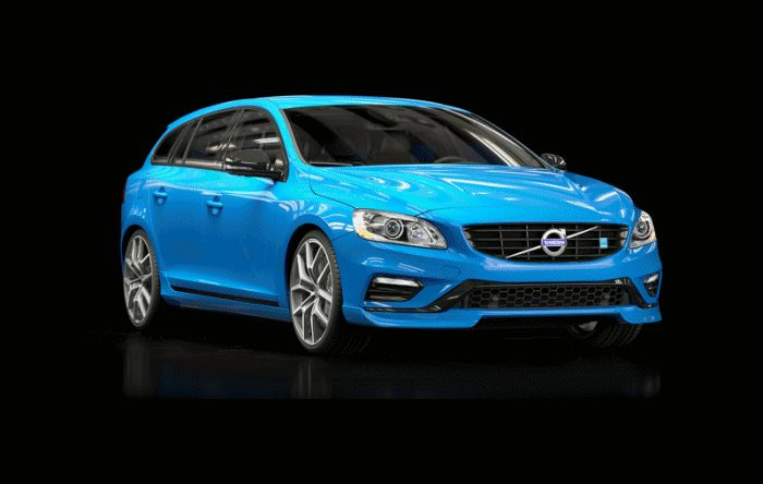 2014 VOLVO POLESTAR V60 and S60 - COLORS and American Arrival Summer 2014 GIF
