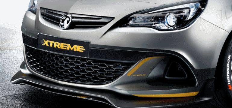 2014 Vauxhall VXR EXTREME Geneva Concept GIF Stretch