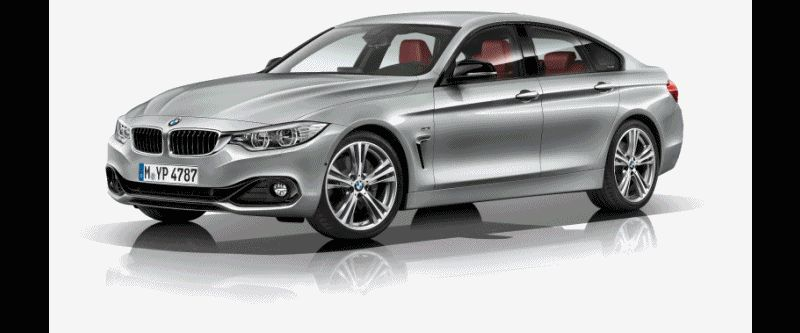 2015 BMW 435i Gran Coupe M Sport GIF