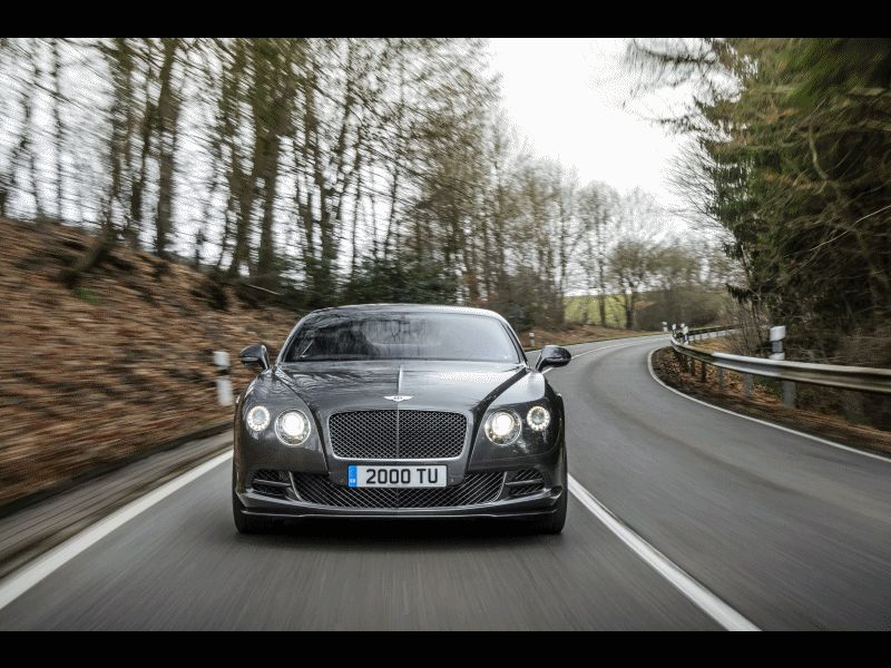 2015 Bentley Continental GT Speed GIF