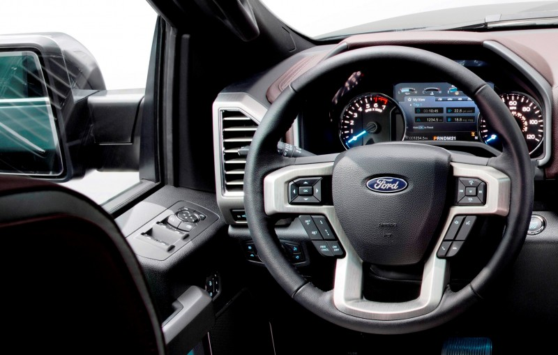 2015 ford f 150 almost unbelieveably new 14b golden goose goes hog wild with leds and