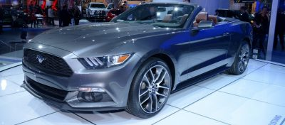 2015 Ford Mustang GT -- Mean, Lean and Ready To Brawl in Latest Real-Life Photos -- Yellow GT 13
