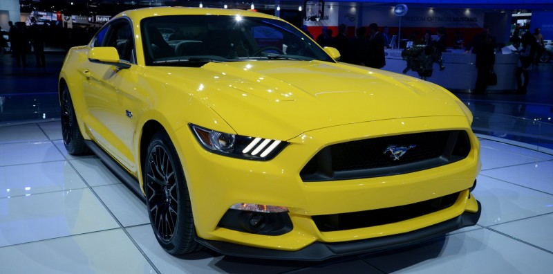2015 Ford Mustang GT -- Mean, Lean and Ready To Brawl in Latest Real-Life Photos -- Yellow GT 19