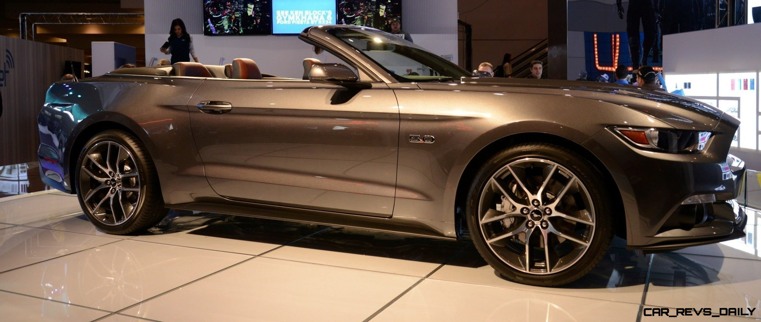 2015 ford mustang gt mean lean and ready to brawl in latest real