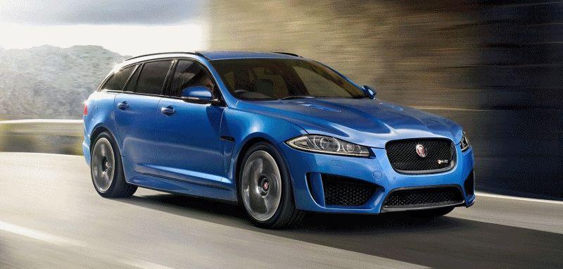 2015 Jaguar XFR-S Sportbrake GIF Dynamic Shots