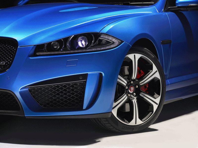 2015 Jaguar XFR-S Sportbrake GIF details