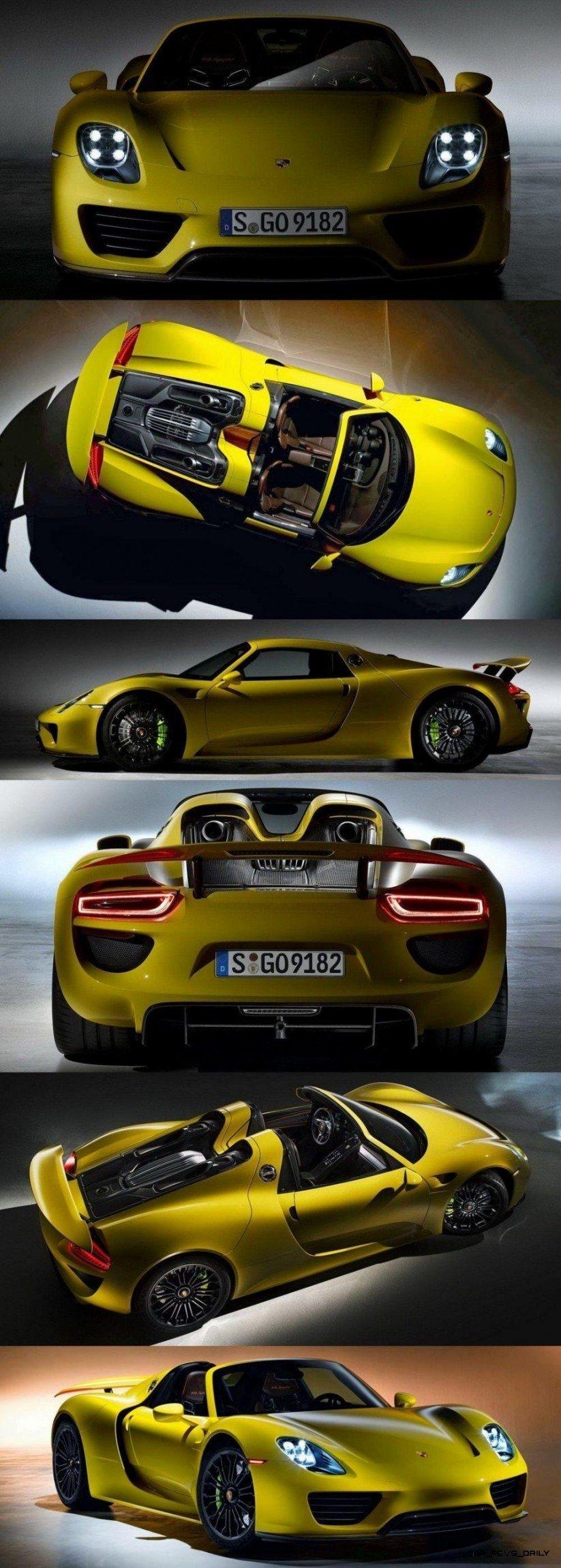 Porsche Brand Showcase 1000 Photo Gallery Of 918 Spyder