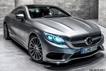 WOW! 2015 Mercedes-Benz S550 4MATIC Coupe -- High-Speed, High-Fashion 2-Door Glam Shuttle