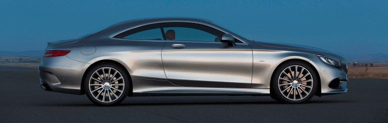 2015 S-Class Coupe EXT 1 GIF