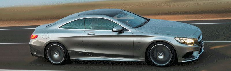 2015 S-Class Coupe EXT 2 GIF