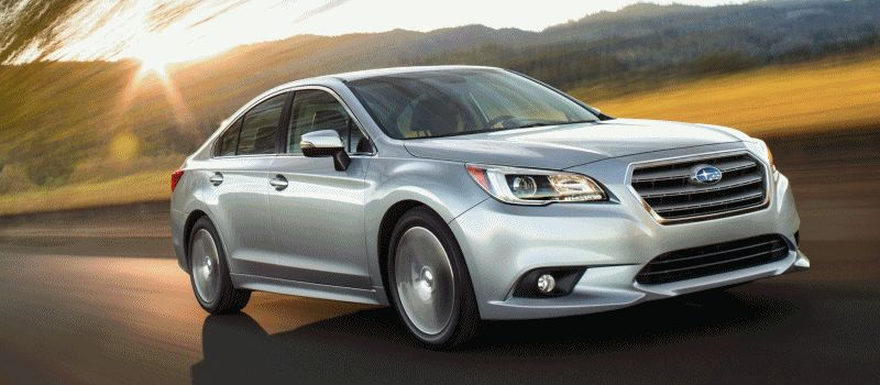 2015 Subaru Legacy Sedan EXT GIF