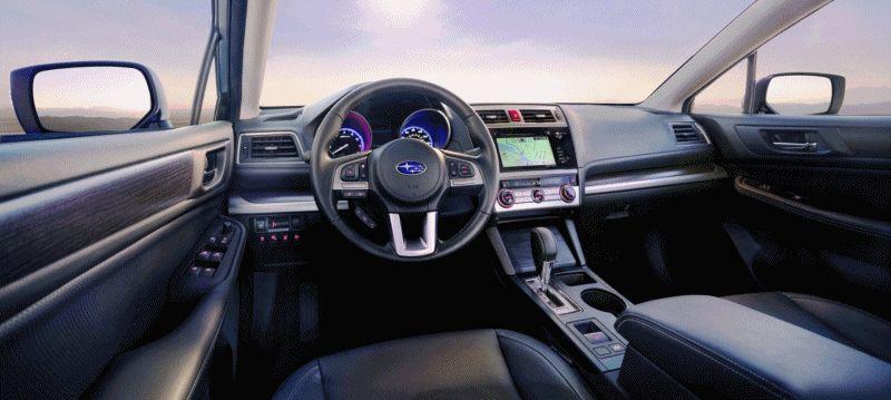 2015 Subaru Legacy Sedan INT GIF