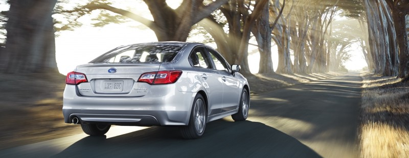 2015 Subaru Legacy Sedan -- More Lux and Tech in Cabin -- Finally Some Exterior Style -- Even 36MPG Highway  2