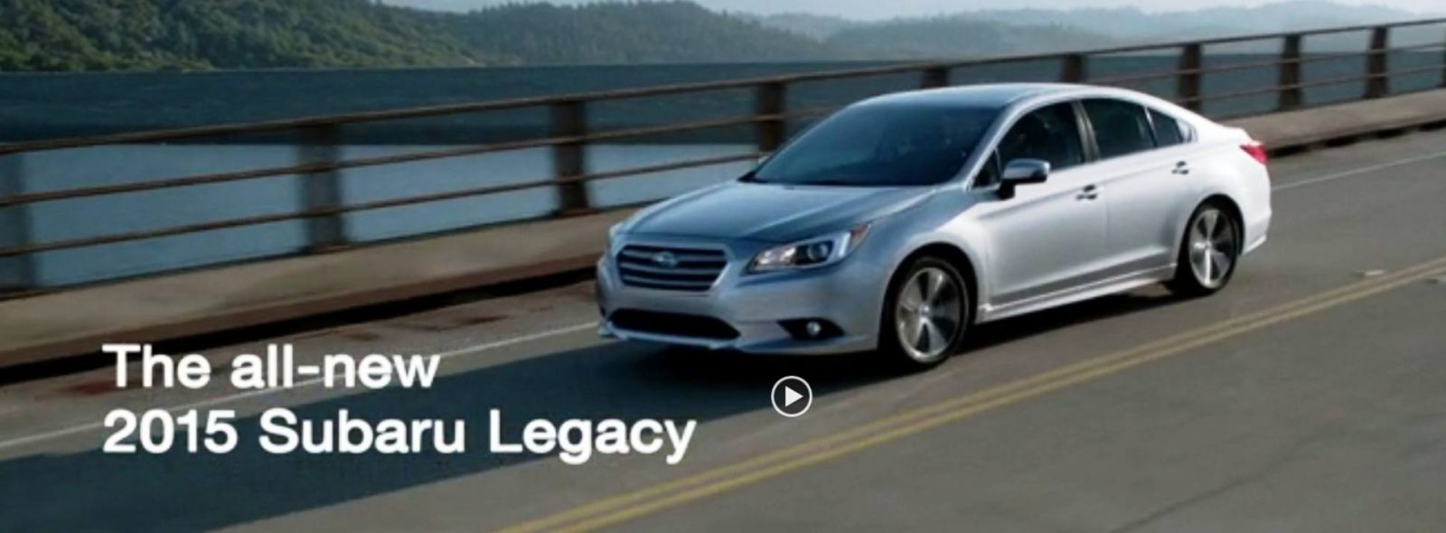 2015 Subaru Legacy Sedan -- More Lux and Tech in Cabin -- Finally Some Exterior Style -- Even 36MPG Highway  21