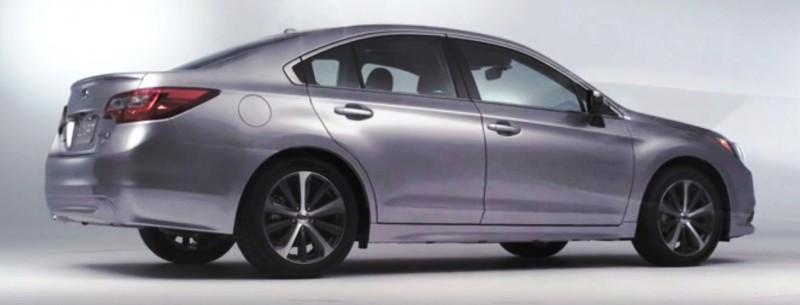 2015 Subaru Legacy Sedan -- More Lux and Tech in Cabin -- Finally Some Exterior Style -- Even 36MPG Highway  28