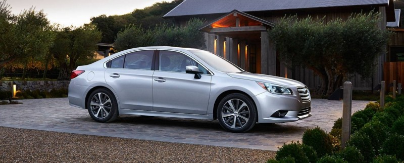 2015 Subaru Legacy Sedan -- More Lux and Tech in Cabin -- Finally Some Exterior Style -- Even 36MPG Highway  33