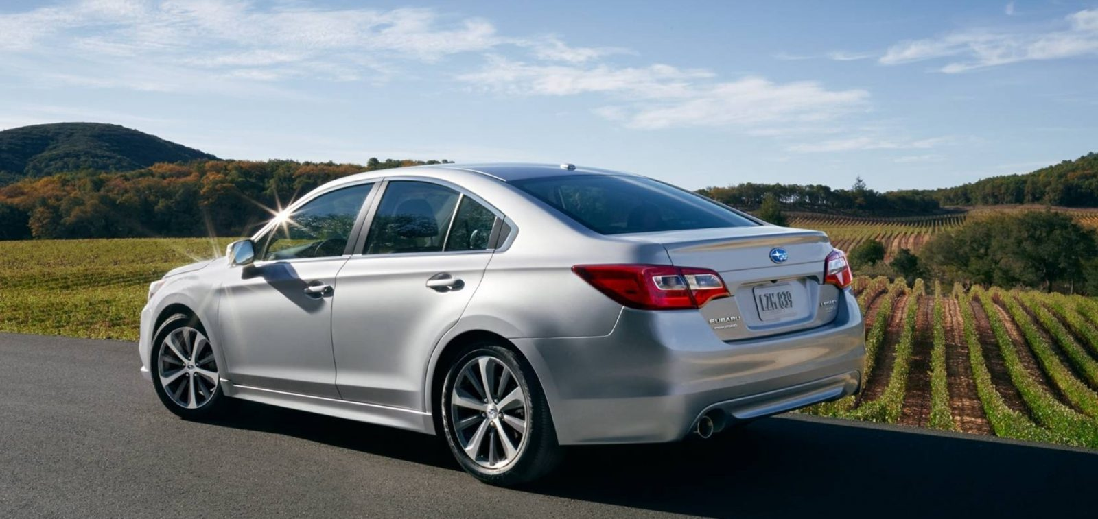 2015 Subaru Legacy Sedan -- More Lux and Tech in Cabin -- Finally Some Exterior Style -- Even 36MPG Highway  35