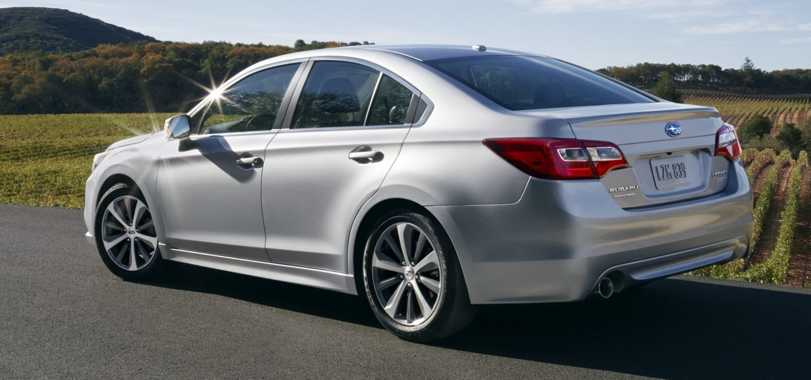 2015 Subaru Legacy Sedan -- More Lux and Tech in Cabin -- Finally Some Exterior Style -- Even 36MPG Highway  5