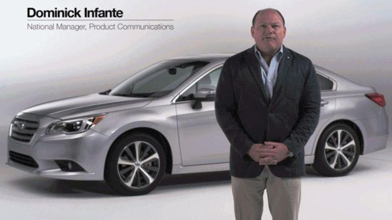 2015 Subaru Legacy Sedan Video Stills2 GIF
