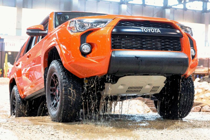 2015 Toyota TRD Pro Series GIF - Traction Testing Chicago Auto Show GIF