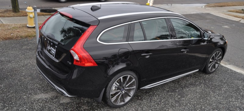 2015 Volvo V60 T5 Sport Pack -- Video Walkaround and 30 All-New Photos 15