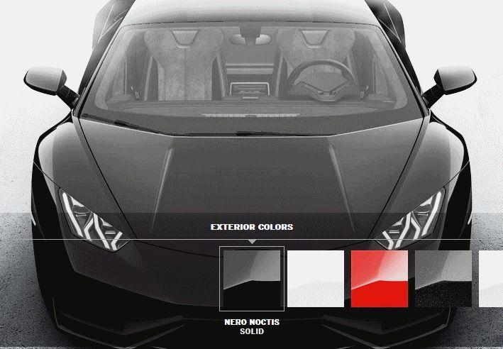202MPH Lamborghini Huracan -- Official Colorizer GIF2