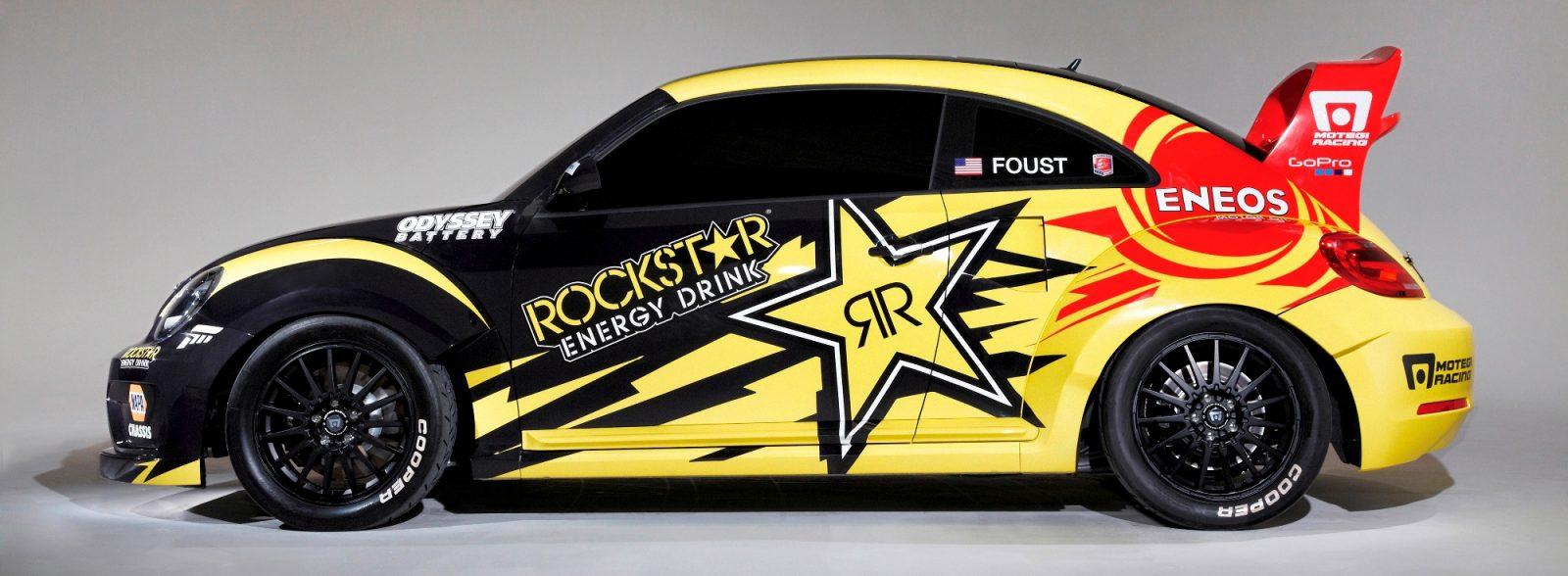 All-New FIA RallyCross Series Looks FUN! Dart, Sonic, Beetle, Fiesta, Fabia, Pug 208GTI and More On-Board 15