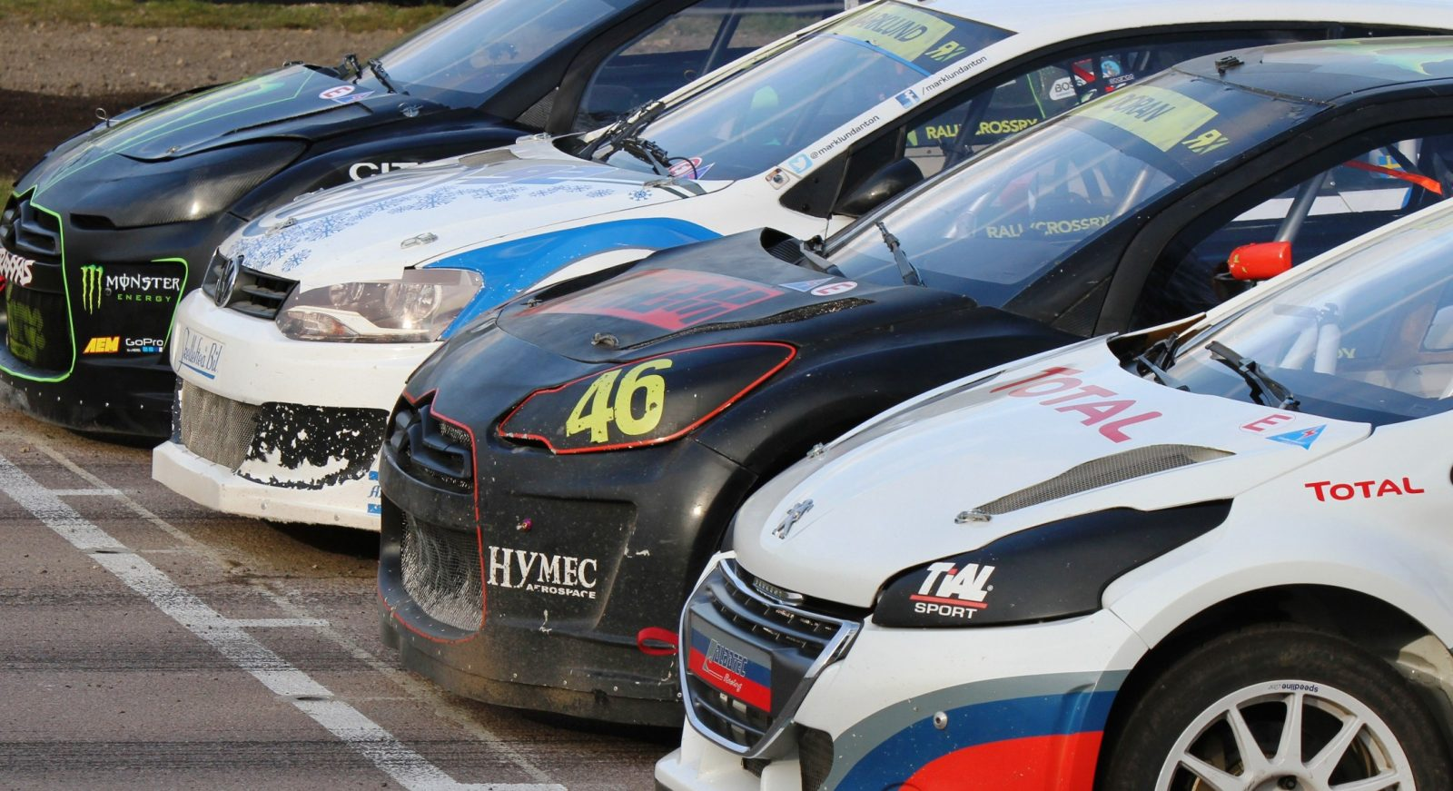 All-New FIA RallyCross Series Looks FUN! Dart, Sonic, Beetle, Fiesta, Fabia, Pug 208GTI and More On-Board 8