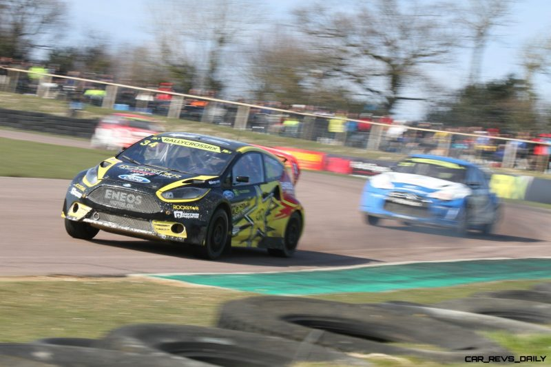 All-New FIA RallyCross Series Looks FUN! Dart, Sonic, Beetle, Fiesta, Fabia, Pug 208GTI and More On-Board 9