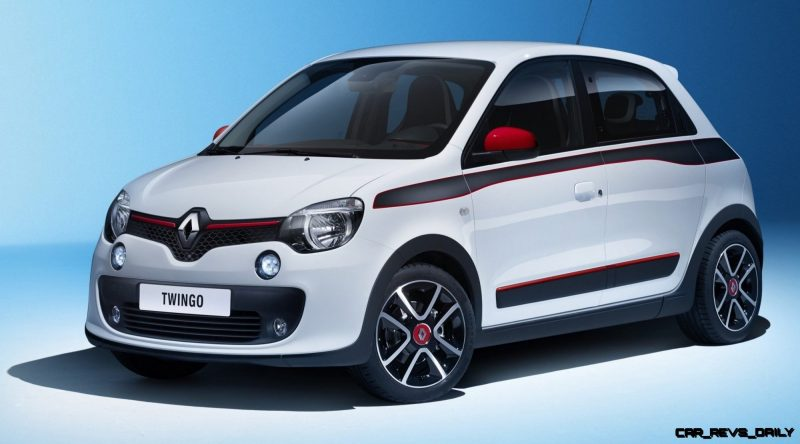 All-New Renault Twingo Packs Rear Engine, Four Doors and Cute New Style 14