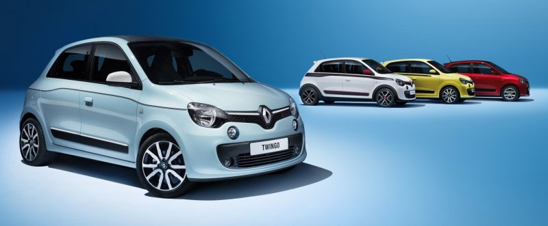All-New Renault Twingo Packs Rear Engine, Four Doors and Cute New Style 4