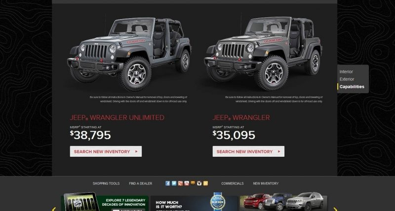 Car-Revs-Daily.com -- Buyers Guide to 2014 JEEP Wrangler Trims, Tops and Doors 22