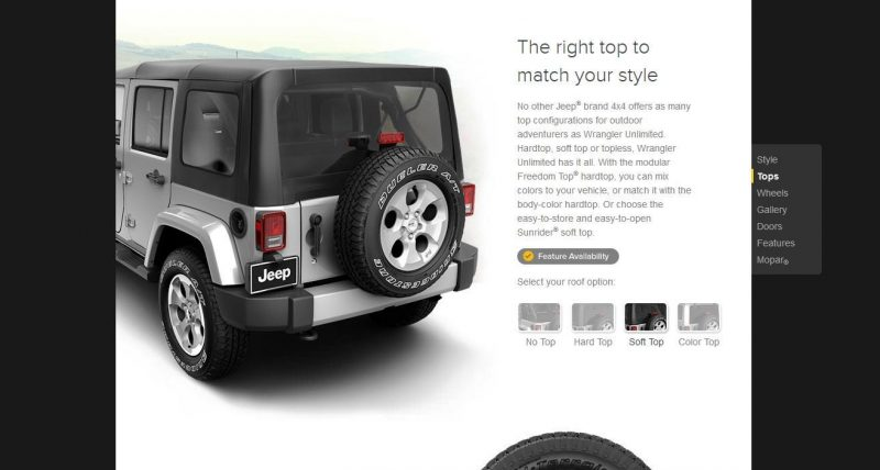 Car-Revs-Daily.com -- Buyers Guide to 2014 JEEP Wrangler Trims, Tops and Doors 63