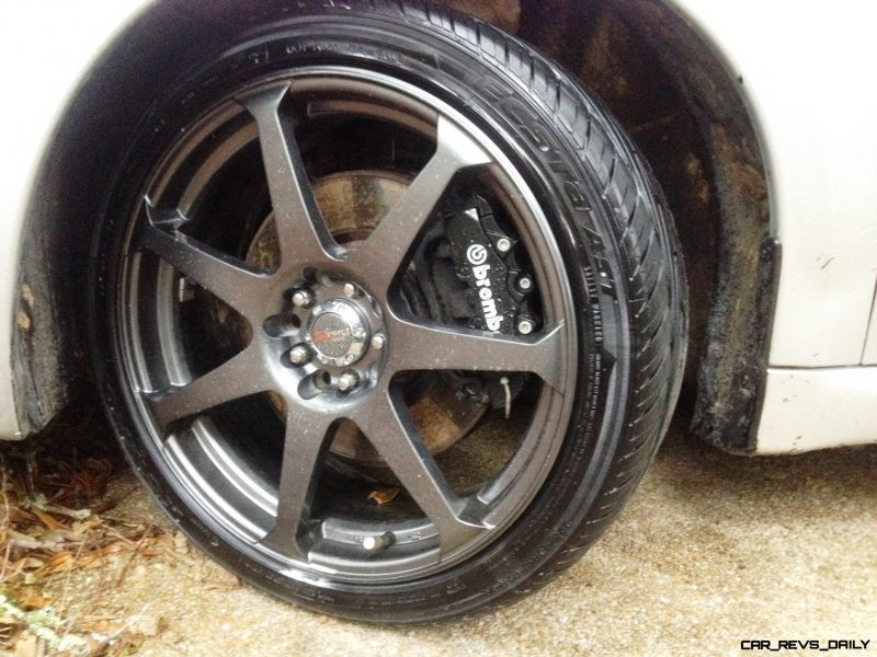 Car-Revs-Daily.com Recommends - Black Magic Tire Foam - Porsche Panamera S 41